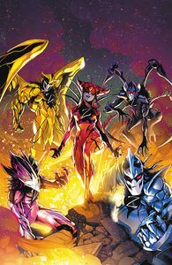 [Mighty Morphin Power Rangers #53 (Cover A Campbell) (Product Image)]