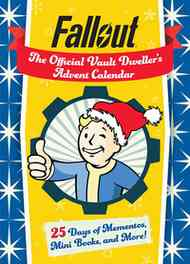 [The cover for Fallout: The Official Vault Dweller's Advent Calendar]