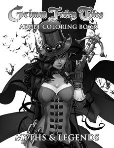 [Grimm Fairy Tales: Adult Coloring Book: Myths & Legends (Product Image)]