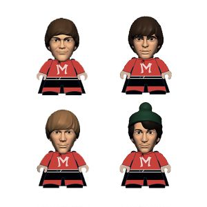 [The Monkees: TITANS: Monkeemen Christmas Tree Four-Pack (Product Image)]