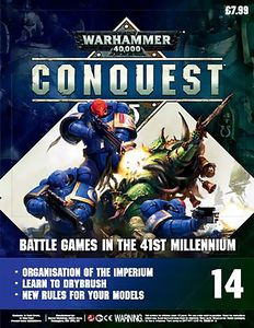 [Warhammer 40K: Conquest: Figurine Collection #14 (Product Image)]