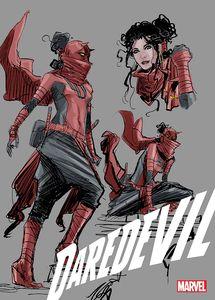 [Daredevil #25 (2nd Printing Design Variant) (Product Image)]