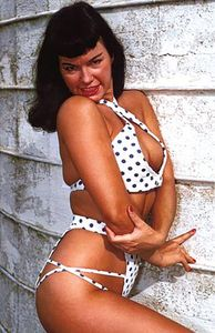 [Bettie Page #1 (Photo Virgin Variant) (Product Image)]