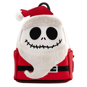 [The Nightmare Before Christmas: Loungefly Mini Backpack: Santa Jack (Product Image)]