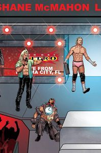 [WWE #14 (Schoonover Raw Connecting Variant) (Product Image)]