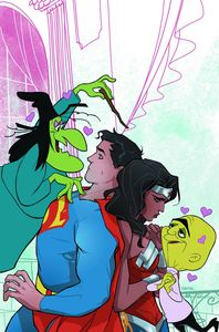 [Superman/Wonder Woman #23 (Looney Tunes Variant Edition) (Product Image)]