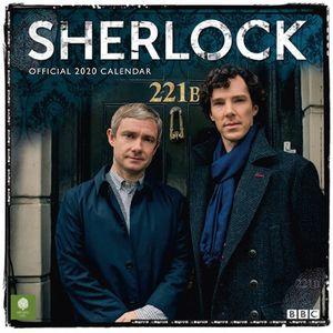 [Sherlock: Square Calendar: 2020 (Product Image)]