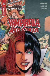 [Vampirella/Red Sonja #7 (Cover E Moss) (Product Image)]