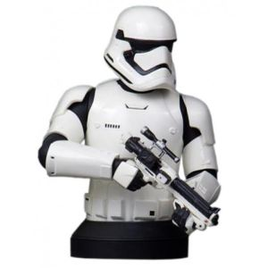 [Star Wars: The Force Awakens: Deluxe Mini Bust: First Order Stormtrooper (Product Image)]