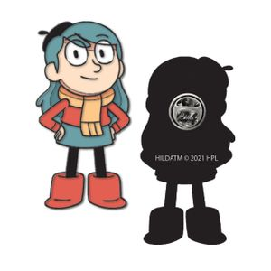 [Hilda: Enamel Pin Badge: Hilda The Adventurer (Product Image)]