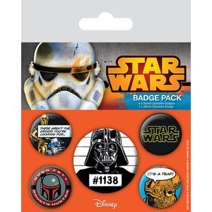 [Star Wars: Badge Pack: Cult Icons (Product Image)]
