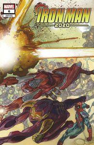 [Iron Man: 2020 #6 (Bianchi Connecting Variant) (Product Image)]