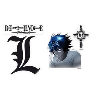 [Death Note: Stickers: L (Product Image)]
