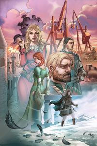 [George R.R. Martin's: A Clash Of Kings #9 (Cover B Rubi) (Product Image)]