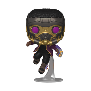 [Marvel: What If...?: Pop! Vinyl Figure: T'Challa Star-Lord (Product Image)]