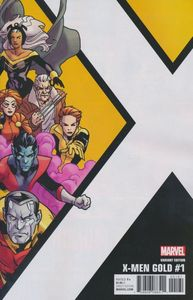 [X-Men: Gold #1 (Kirk Corner Box Variant) (Product Image)]