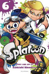 [Splatoon Manga: Volume 6 (Product Image)]