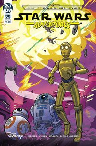 [Star Wars Adventures #29 (Cover B Fleecs) (Product Image)]