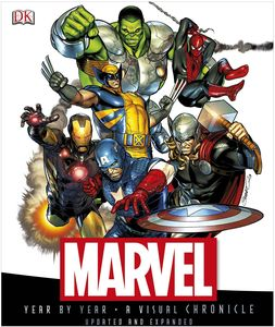 [Marvel: Year By Year A Visual Chronicle (Hardcover) (Product Image)]