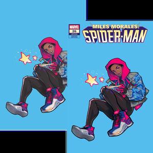[Miles Morales: Spider-Man #26 (Rose Besch Miles Variant Set) (Product Image)]