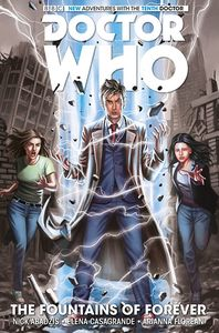[Doctor Who: The Tenth Doctor: Titan: Volume 3: The Fountains Of Forever (Product Image)]