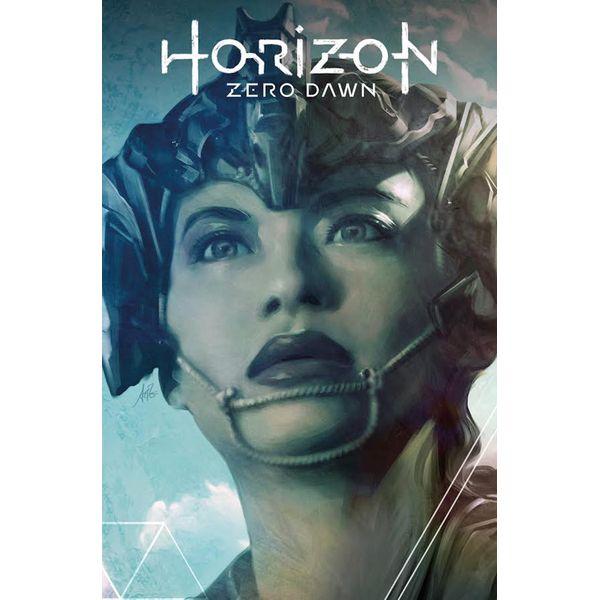 [The cover for Horizon Zero Dawn #1 (Artgerm Forbidden Planet Exclusive Variant)]