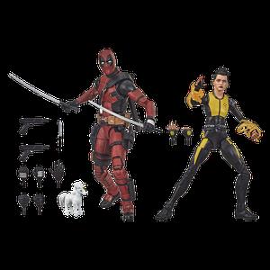 [X-Men: Marvel Legends Action Figure: 20th Anniversary: Deadpool & Negasonic Teenage Warhead (Product Image)]