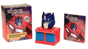 [Transformers: Light-Up Optimus Prime Bust & Illustrated Book (Product Image)]