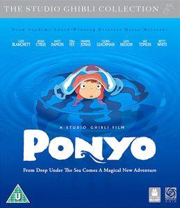 [Studio Ghibli: Ponyo: Blu-Ray Combi Pack (Product Image)]