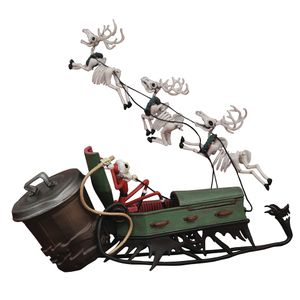 [Nightmare Before Christmas: PVC Play Set: Jack In Sleigh (Deluxe) (Product Image)]