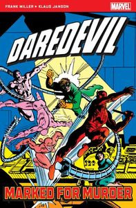 [Marvel Pocket Books: Daredevil: Marked For Murder (Product Image)]