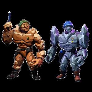 [Teenage Mutant Ninja Turtles: Cartoon Action Figure 2 Pack: Traag & Granitor (Product Image)]