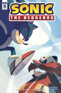 [Sonic The Hedgehog #5 (10 Copy Incentive) (Product Image)]