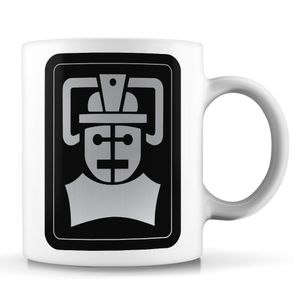 [Doctor Who: Mug: Tomb Of The Cybermen Emblem (Product Image)]