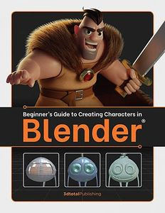 [Beginners Guide To Creating Characters In Blender (Product Image)]