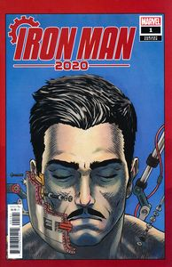 [Iron Man: 2020 #1 (Superlog Heads Variant) (Product Image)]