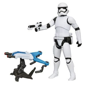 [Star Wars: The Force Awakens: Wave 2 Snow & Desert Action Figures: First Order Stormtrooper (Product Image)]