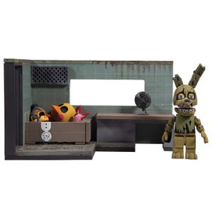 [Five Nights At Freddy's: Small Construct Wave 2: Security Office Springtrap (Product Image)]