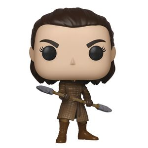 [Game Of Thrones: Pop! Vinyl Figure: Arya With Two Headed Spear (Product Image)]