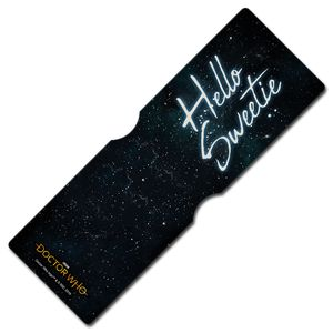[Doctor Who: Anniversary Collection: Card Holder: Hello Sweetie (Product Image)]