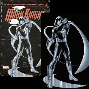 [Moon Knight #1 (Joe Jusko Vintage 'Pulp' Set) (Product Image)]