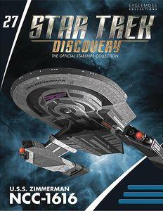 [Star Trek: Discovery: Figurine Magazine #27: USS Zimmerman NCC-1616 Federation (Product Image)]