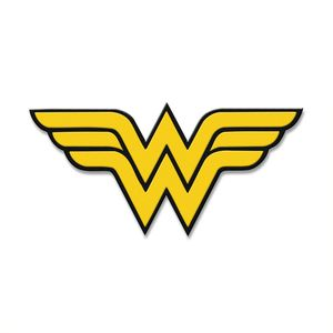 [Wonder Woman: 80mm Patch: Logo (Product Image)]