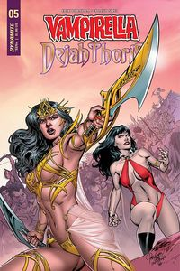 [Vampirella: Dejah Thoris #5 (Cover A Pagulayan) (Product Image)]