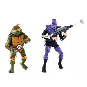 [Teenage Mutant Ninja Turtles Cartoon: Action Figure 2-Pack: Michelangelo V Foot Soldier (Product Image)]