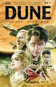[Dune: House Atreides #2 (Cover B Jones) (Product Image)]
