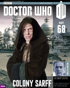 [Doctor Who: Figurine Collection Magazine #68 Colony Sarff (Product Image)]