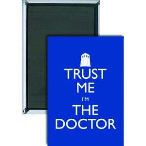 [Doctor Who: Magnet: Trust Me I'm The DOCTOR (Product Image)]