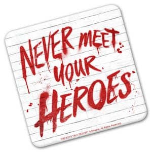 [The Boys: Coaster: Never Meet Your Heroes (Product Image)]