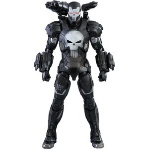 [Marvel: Hot Toys Action Figure: Punisher In War Machine Armour (Product Image)]